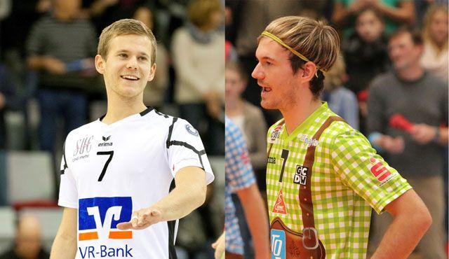 """Premiere beim bayerischen Derby in der """"Schmiede"""" - Tille vs. Tille - Foto: VSG Coburg/Grub/TSV Herrsching"""