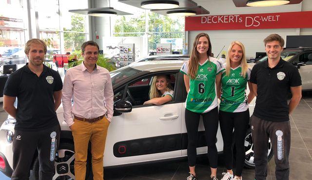 Autohaus Deckert neuer Automobilpartner der proWIN Volleys TV Holz - Foto: proWIN Volleys TV Holz