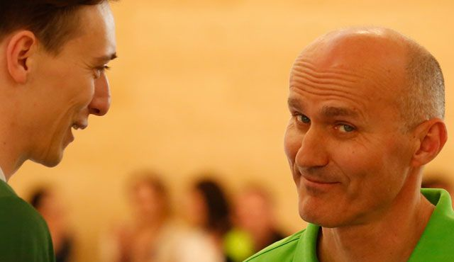 Trainerlegende Milan Maric wieder zurück in Eltmann! - Foto: Frank Heumann