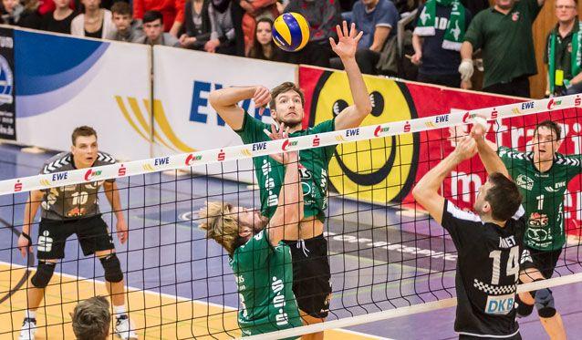 BR Volleys zu stark im Derby gegen die NETZHOPPERS - Foto: Gerold Rebsch