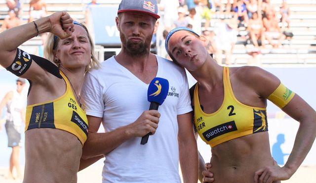 Drei DVV-Duos im Halbfinale - Foto: FiVB
