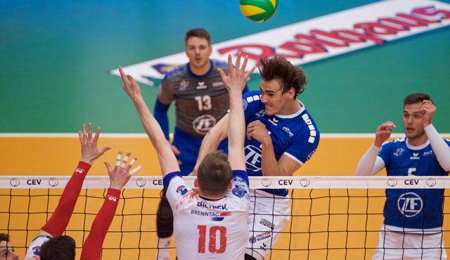 Zaksa zu stark für Häfler Volleyballer - Foto: Günter Kram