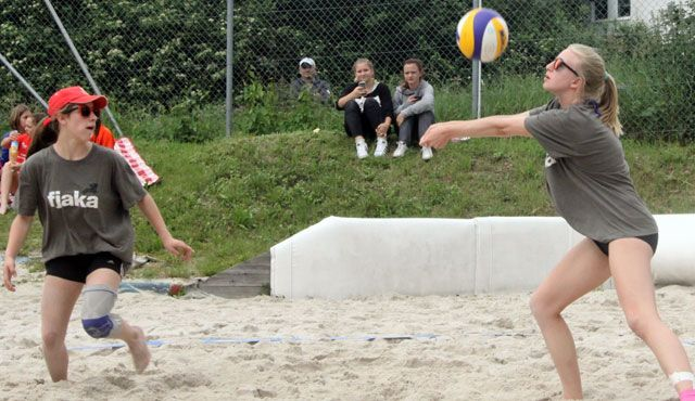 Bayerische Beachvolleyball Meisterschaft U17 in Germering - Foto: SV Germering