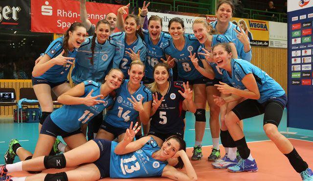 Drei Punkte für den VCW: Wiesbaden gewinnt Suhl mit 3:1 - Foto: Detlef Gottwald
