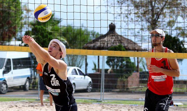 Finaltag ohne DVV-Duos - FIVB Open in Antalya - Foto: FiVB