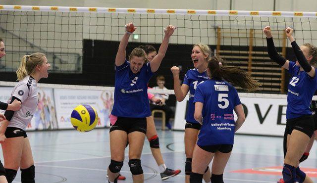 Volleyball-Team Hamburg mit Auswärtssieg zum Saisonabschluss - Foto: VTH/Lehmann