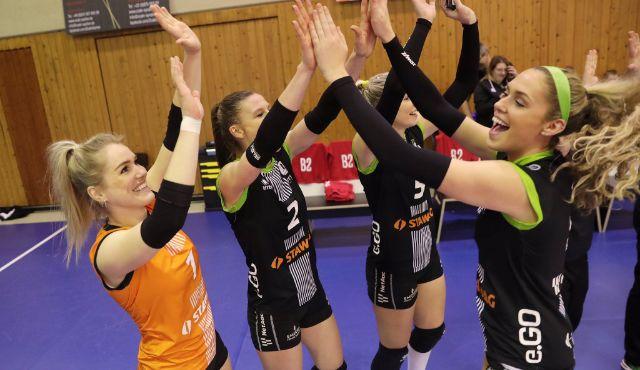 Aachen gewinnt Tiebreak in Dresden - Foto: Ladies in Black Aachen