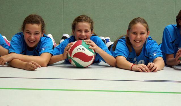 Volleyball macht Schule - Foto: p:e:w