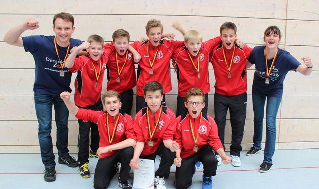 U14 Volleyball TuS Kriftel schafft Sensation: Dritter Platz bei Deutscher Meisterschaft - Foto: TuS Kriftel