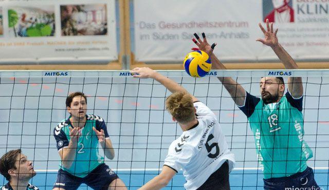 Erster Heimsieg für die Chemie Volleys - Foto: Danny Pockrandt