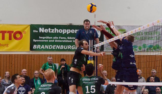 Netzhoppers KW-Bestensee beenden den SVG Lüneburg-Fluch - Foto: Dagmar Jaschen