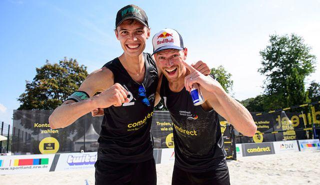 Top-Teams Titel geht an Brouwer/Thole - Foto: Conny Kurth