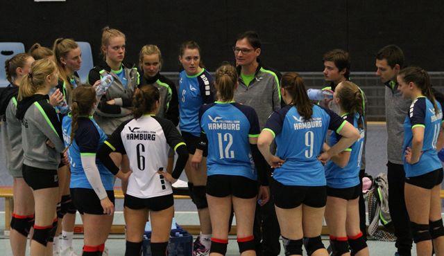 Volleyball-Team Hamburg empfängt Grün-Weiß Eimsbüttel  - Foto: VTH