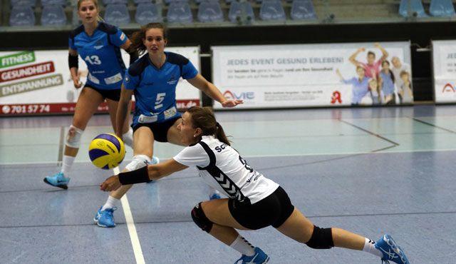 Volleyball-Team Hamburg verlangt Tabellenführer alles ab - Foto: VTH/ Lehmann - Sandra Schneider
