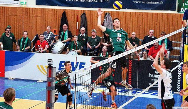 Das ist Vereinstreue: Daniel Heinecke geht in 18. Netzhoppers-Saison - Foto: Wolfgang Purann
