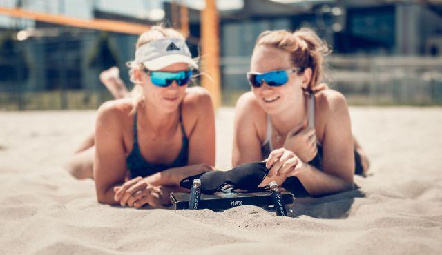 Hamburg-City: Brennpunkt Beachvolleyball - Foto: Tom Bloch