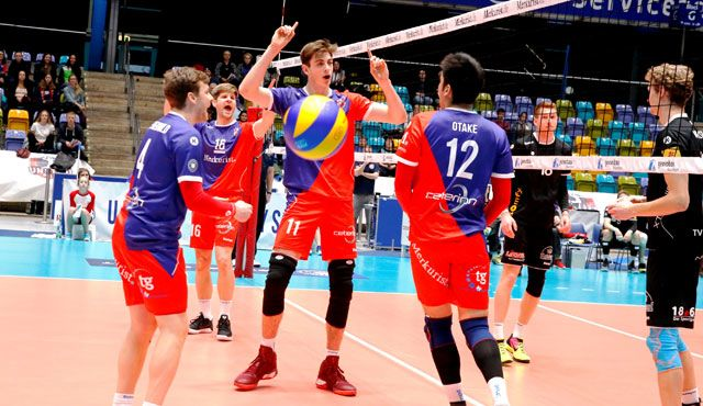 Mit Bravour in die Bresche gesprungen - Foto: United Volleys/Manfred Neumann