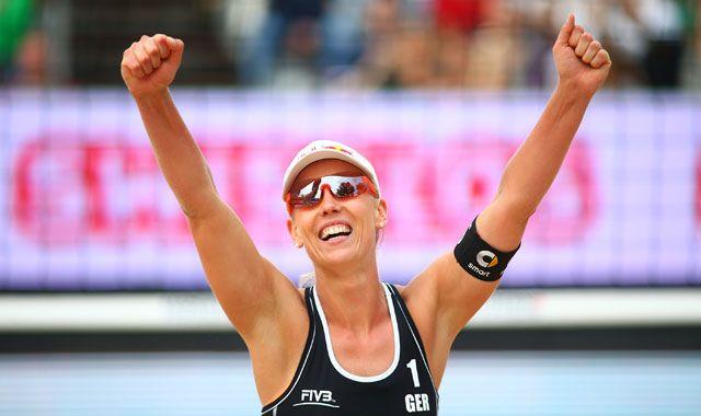 Borger/Büthe im Finale - Zum zweiten Mal im Finale der World Tour - Foto: FiVB