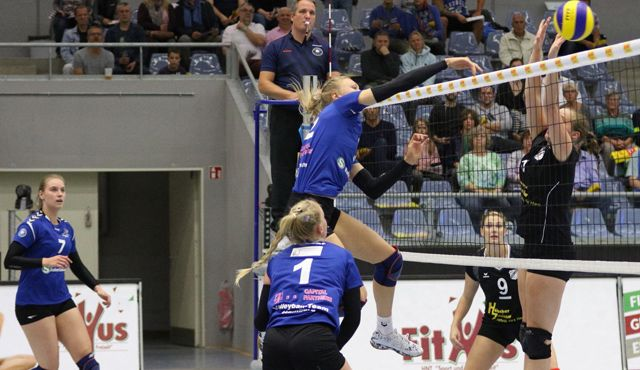 Volleyball-Team Hamburg hat Bayer Leverkusen zu Gast - Foto: VTH Lehmann
