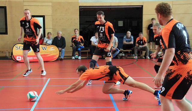SG Prieros/Netzhoppers KW sammelt weitere Punkte für den Klassenerhalt - Foto: Verein