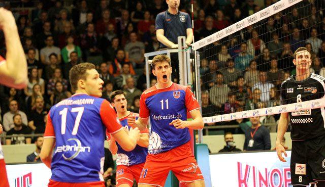"""Nicht brav, sondern """"brave""""  - Foto: United Volleys/Gregor Biskup"""