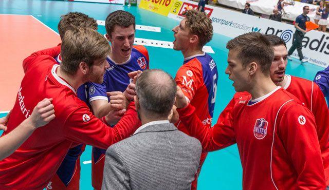 Pokal-Erfolg: Aus 0:6 wird ein 3:0 - Foto: United Volleys/Manfred Neumann