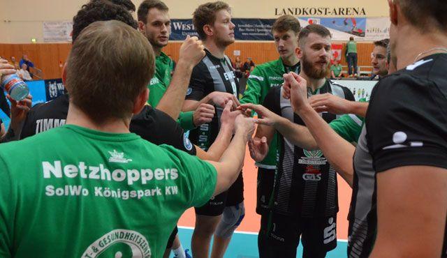 Netzhoppers SolWo Königspark KW siegen im DVV-Pokal - Foto: Dagmar Jaschen
