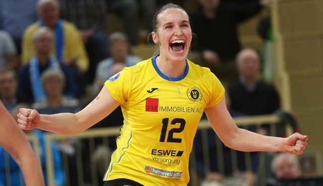 Die Punktejagd geht weiter: VCW will gegen Münster weiter erfolgreich sein - Foto: Detlef Gottwald