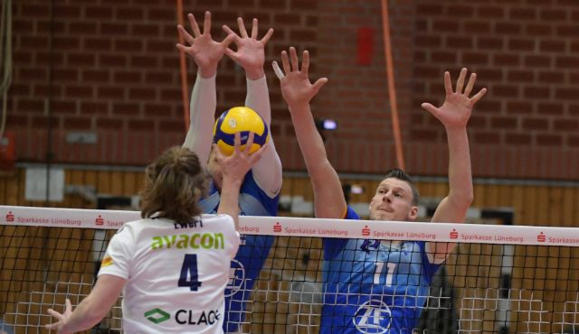 Friedrichshafen steht im Halbfinale des DVV Pokals - Foto: Behns