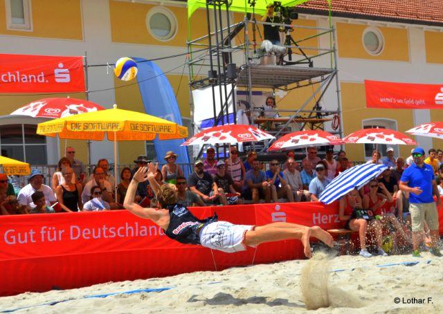 BVV Beach Masters in Ebersberg extrem stark besetzt - Foto: Lothar Forstmair/beach2go