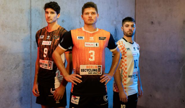 BR Volleys Trikots 2021/2022 - Foto: Dennis Ebel