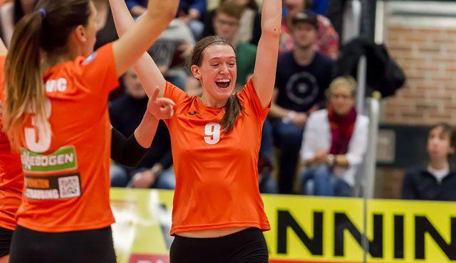 NawaRo zeigt zwei Gesichter und siegt am Ende 3:2 gegen Neuwied Über 800 Fans erleben Comeback in der turmair Volleyballarena - Foto: Schindler