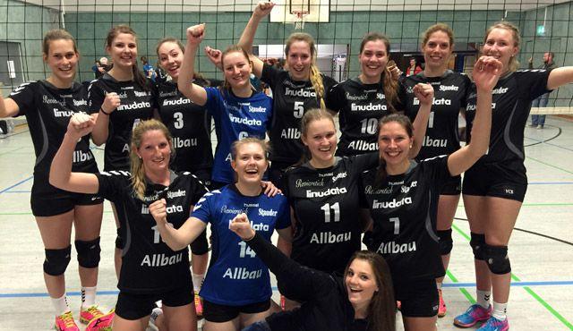 VC Allbau Essen ist Doublesieger. Bezirkspokal Hattrick perfekt! - Foto