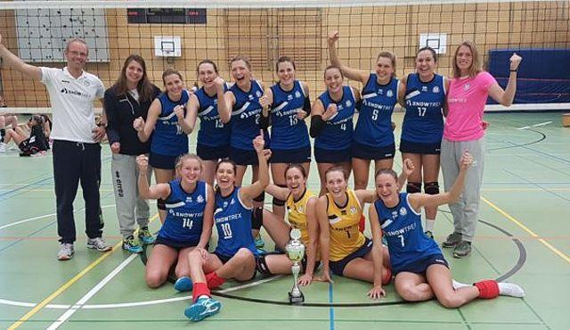DSHS SnowTrex Köln rotiert zum fünften WVV-Pokalsieg - Foto: privat