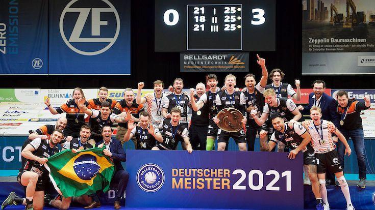 BR Volleys sind Deutscher Meister 2021 - Foto: Günther Kram