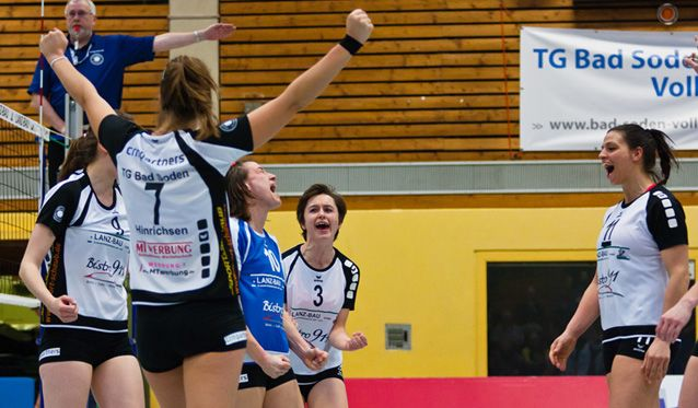 TG Bad Soden besiegt SWE Volley-Team aus Erfurt klar - Foto: Hahn