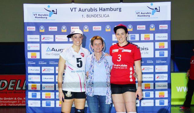 VT Aurubis Hamburg siegt 3:0 in Köpenick - Foto: VT Aurubis Hamburg