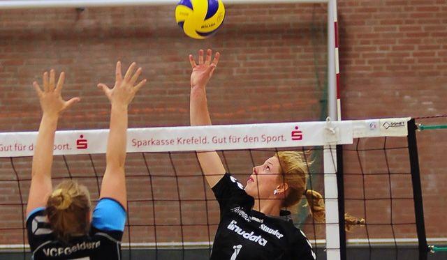 VC Allbau Essen gewinnt auswärts gegen VC Eintracht Geldern - Foto: Alwin Loerke