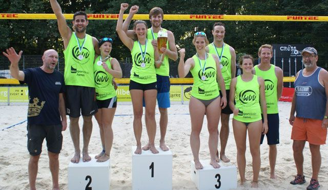 Jenny Begall und Jan Westerheider holen den Beachvolleyball-Titel  - Foto: Jens Ole Wilberg