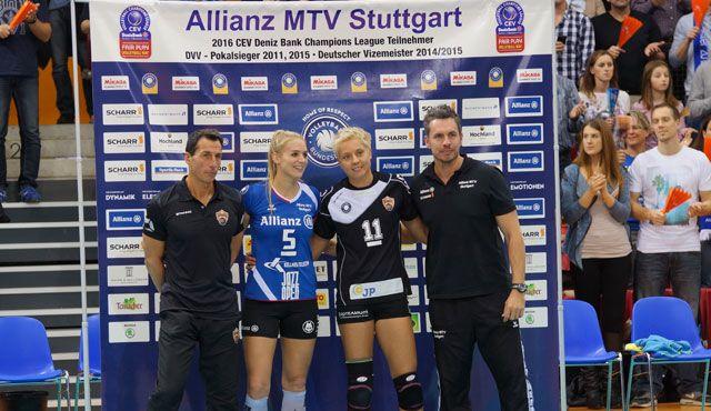 Karmen Kočar komplettiert das Zuspiel-Team - Foto: Frank Voß