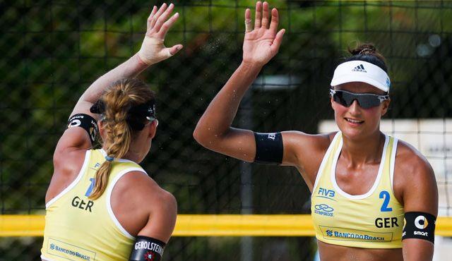 Beachvolleyball-Nationalteam Holtwick/Semmler überzeugt bei den Maceio Open in Brasilien - Foto: FiVB