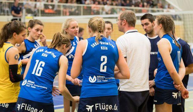 DSHS SnowTrex Köln im letzten Hinrundenspiel gegen Oythe - Foto: Martin Miseré