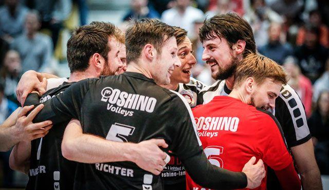 In Fellbach entscheidet sich die Meisterschaft noch nicht - Foto: VC Eltmann / Oshino Volleys Eltmann