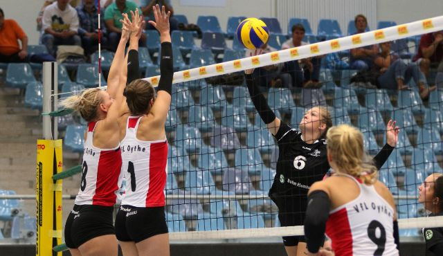 Volleyball-Team Hamburg zu Gast in Oythe - Foto: VTH Lehmann