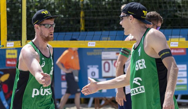 Rattenfänger Beach-Team  Hameln in Warschau - Foto: FiVB