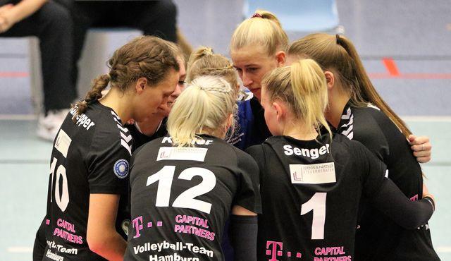 Volleyball-Team Hamburg verlangt Borken alles ab und wird nicht belohnt - Foto:VTH Lehmann