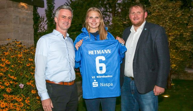 Naspa bleibt Kooperationspartner des VC Wiesbaden - Foto: Detlef Gottwald