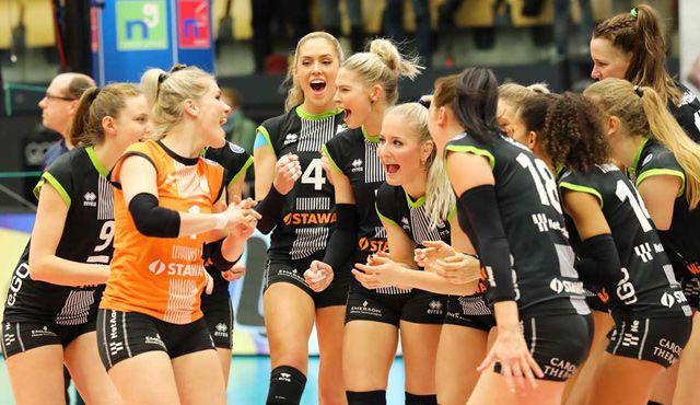 Aachen will gegen Stuttgart in der Meisterschaft punkten - Foto: Ladies in Black Aachen\\ Andreas Steindl