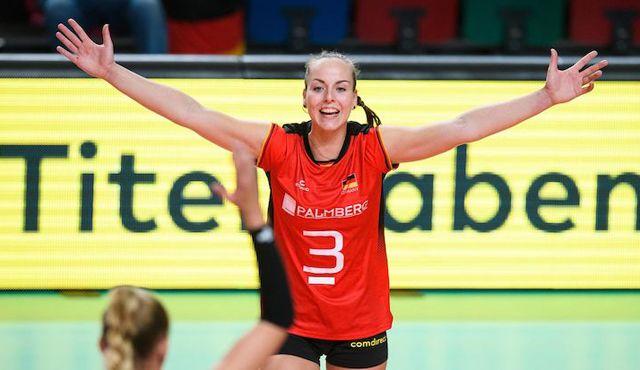 Denise Hanke verabschiedet sich aus dem Profi-Volleyball - Foto: Conny Kurth / DVV