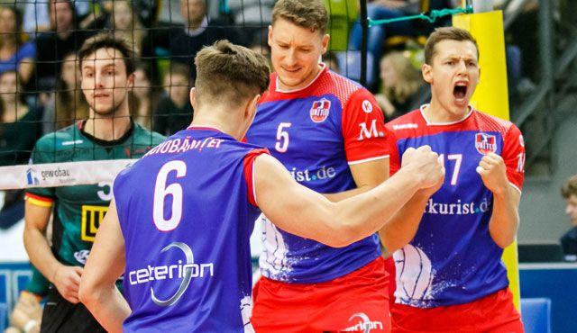 """Nervenstarke Uniteds widerstehen der Bühler """"Stampede""""  - Foto: United Volleys/Gregor Biskup"""